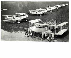 IMPERIAL AIRWAYS RAILWAY AIR SERVICES De Havilland DH   Dragon     26 * 20 Cm HAWKER SIDDELEY - Aviación