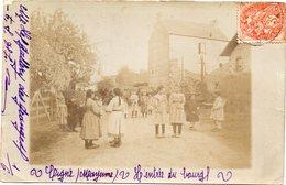 - CIGNE - L'entrée Du Bourg - Carte Photo - - Ambrieres Les Vallees