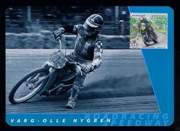 Varg-Olle Nygren Motorcycles Sports Motos Motorbikes Transports 2002 Motocross Maximum Cards SWEDEN Mc715 - Motos
