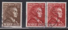 NORWAY Scott # 251-2 Used - Norway