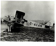 De Havilland DH   Dragon  WESTERN AIRWAYS    26 * 20 Cm HAWKER SIDDELEY - Aviación