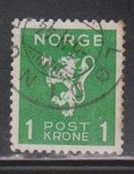 NORWAY Scott # 203 Used - Norway