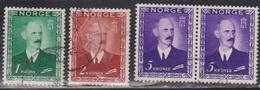 NORWAY Scott # 275, 277-8 Used - Norway