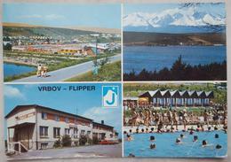 VRBOV - FLIPPER - CESKOSLOVENSKO - Slovensko Slovacchia - Areal Kupaliska - Vysoke Tatry Od Vrbova - Flipper Hotel Vg - Slovacchia