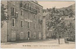 CORSE CPA  SARTENE - Les Casernes De La Gendarmerie - Sartene