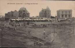 Dep 44 , Cpa LE CROISIC , La Plage De Port Lin (D9.4825) - Le Croisic