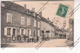 CPA Animée Joux La Ville (89) : Le Bureau De Poste Caisse Nationale D'epargne ( à Eliot Retifs Arcy Sur Cure) - France