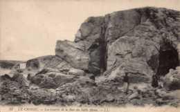 Dep 44 , Cpa LE CROISIC , 51 , Les Grottes De La Baie Du Sable Menu (D9.4829) - Le Croisic