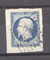 CLX 2534  -  France  :  Yv  14 A  (o)  Variété Suarnet 12  =  Boule Sur La Tête - 1853-1860 Napoleon III