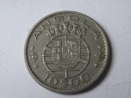10 ESCUDOS 1969. - Angola