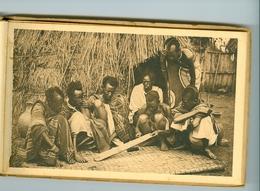 "10 CP Ruanda Urundi ""Scènes"" Travaux Ménagers Ed. Jos Dardenne 1 Carnet Sér. 2 D Bis. 1930 Ethnographie Rwanda Burundi - Ruanda-Urundi"