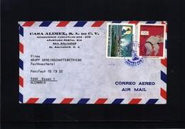 El Salvador Interesting Airmail Letter - El Salvador