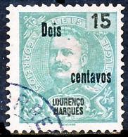 !■■■■■ds■■ L.Marques 1915 AF#145ø K.Carlos Surcharged 2cent  (x11444) Lourenzo Lourenço Marques - Lourenco Marques