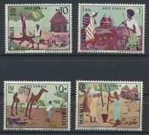 °°° SOMALIA - Y&T N°55/58 - 1966 MNH °°° - Somalia (1960-...)