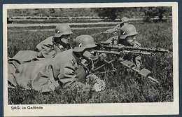 Allemagne - Wehrmacht  Bildeserie - SMG Im Gelände - Guerre 1939-45