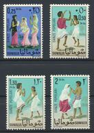 °°° SOMALIA - Y&T N°66/69 - 1967 MNH - Somalia (1960-...)