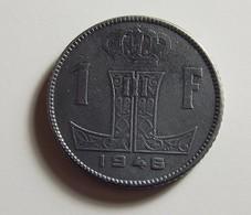Belgium 1 Franc 1946 Varnished - 1945-1951: Régence