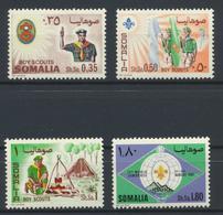 °°° SOMALIA - Y&T N°70/73 - 1967 MNH - Somalia (1960-...)