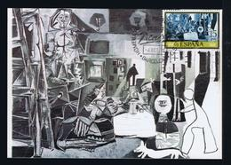 Paintings Peinture Arts España 1x Maximum Cards Museum PICASSO Barcelona Fdc-pmk Mc732 - Picasso