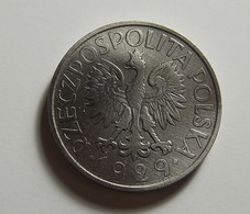 Poland 1 Zloty 1929 Varnished - Pologne