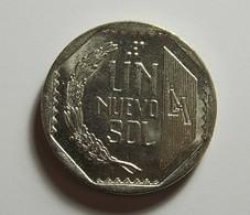 Peru 1 Sol 1996 Varnished - Pérou