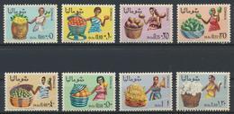 °°° SOMALIA - Y&T N°83/90 - 1968 MNH - Somalia (1960-...)