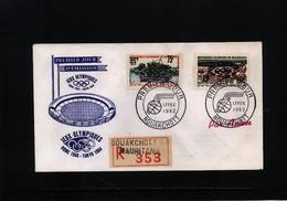 Mauritania 1962 Olympic Games Tokyo FDC - Sommer 1964: Tokio
