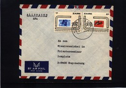 Zaire 1982 Interesting Airmail Letter - Sonstige