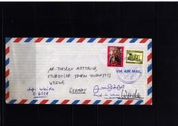 Iraq Interesting Airmail Letter - Irak