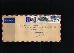 Tanzania  Interesting Airmail Letter - Tansania (1964-...)