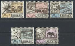 °°° SOMALIA - Y&T N°39/41 + 36/37 PA - 1965 MNH - Somalia (1960-...)