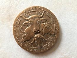 Médaille En Bronze Concours Général Agricole 1978 Salon International De L Agriculture Par R.B. Baron - Otros