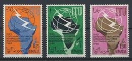 °°° SOMALIA - Y&T N°38 + 34/35 PA - 1965 MNH - Somalia (1960-...)