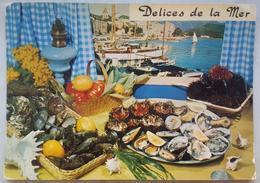 DELICES DE LA MER - Recette N. 101 Ctiché Appollot-Grasse - Poésie De Emilie Bernard - Fruits De Mer   Vg - Ricette Di Cucina