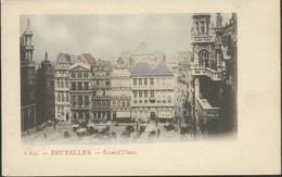 Bruxelles : Grand' Place Colorisée / édit.A.H.J - Monuments, édifices
