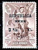 !■■■■■ds■■ Téte 1913 AF#14* Vasco Da Gama On Macao 7,5 Centavos (X7487) - Tete