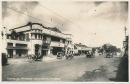 INDONESIA - SOERABAJA, Princesse - Schouwburg, Simpang - By H. VAN INGEN - Real Photo (RPPC), CIRCA 1915 - Indonesia