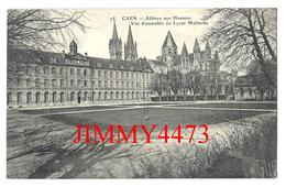 CPA - Abbaye Aux Hommes - Vue D'ensemble Du Lycée Malherbe - CAEN 14 Calvados - N° 75 - Scans Recto-Verso - Caen
