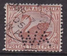 Western Australia 1882 P.14 SG 86 Used Perf WA - Gebraucht