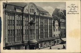 Cp Magdeburg In Saxe Anhalt, Textilhaus Zentrum, Tezet, Breiter Weg 57 - Deutschland