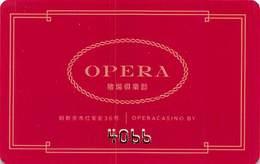 Opera Casino - Minsk Belarus - Slot Card  ....[FSC]..... - Casino Cards