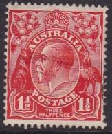 Australia 1927 George V Wmk W.7  P.13.5x12.5 SG 96 Mint Never Hinged - 1913-36 George V: Heads