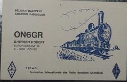 Belgique, Ronse Carte QSL Radio Amateur Sca R/V - Radio