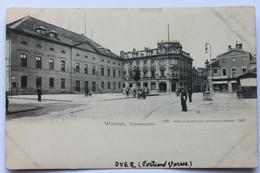 Theaterplatz, Weimar, Deutschland Germany, 1902 - Weimar