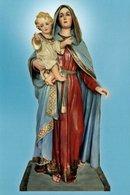 SANTINO Image Pieuse Religieuse Holy Card  Maria Vergine Madonna Della Luce PERFETTO - Godsdienst & Esoterisme