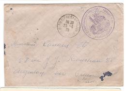 13693 - ARTILLERIE LOURDE SUR VOIE FERREE - Marcophilie (Lettres)