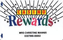 Conrad Treasury / Conrad Jupiters Casinos - Australia - Slot Card - Squared Jupiters Logo    .....[FSC]..... - Casino Cards