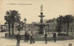 BEZIERS  Fontaine De La Citadelle - Beziers