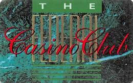Wrest Point Hotel Casino Australia - The Federal Casino Club Slot Card .....[FSC]..... - Casino Cards