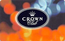 Crown Casino - Australia - BLANK Slot Card ....[FSC]..... - Casino Cards